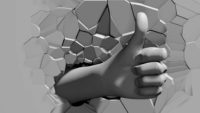 Hand_Signs_3D_Effect_Symbol_for_Video_Projection_Layer_26